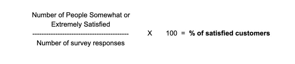 CSAT Calculation