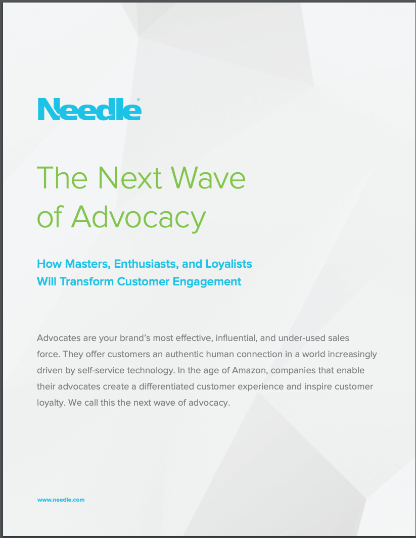 White Paper: The Next Wave of Advocacy: How Masters, Enthusiasts, and Loyalists Will Transform Customer Engagement