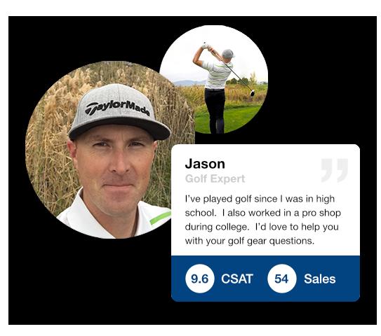 TaylorMade golf expert, Jason
