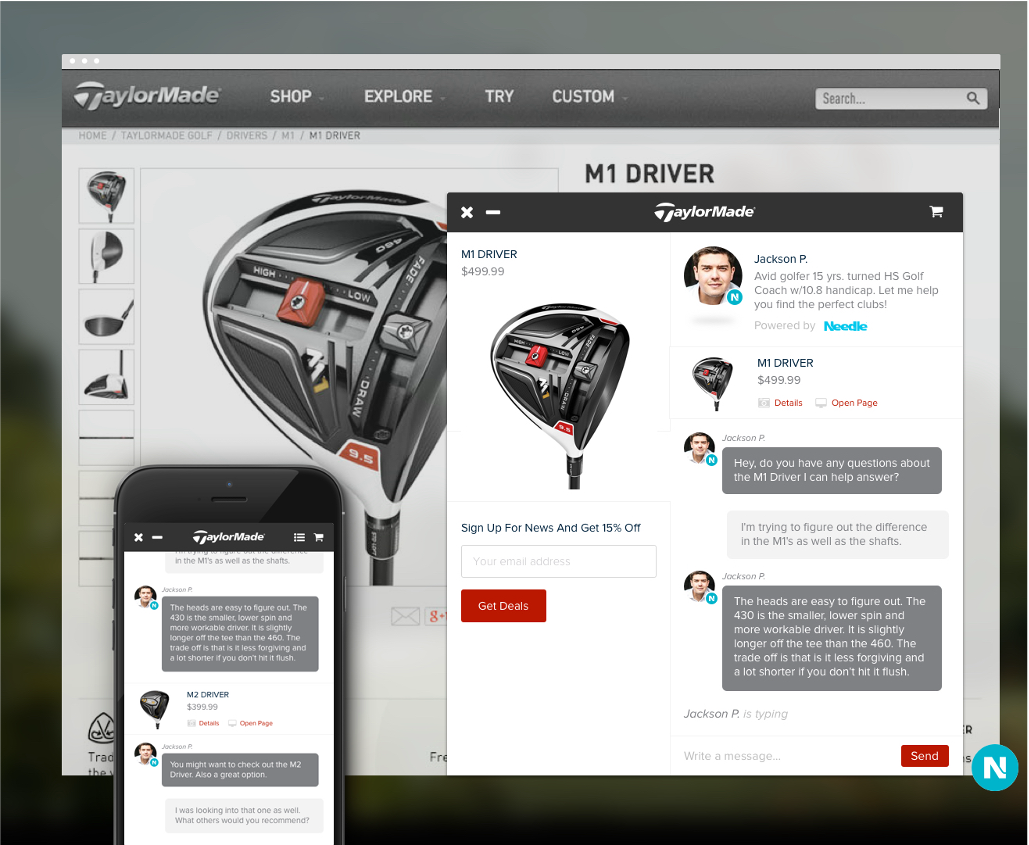TaylorMade Product Shop